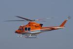 yabyanさんが、名古屋飛行場で撮影した新日本ヘリコプター 412EPの航空フォト(飛行機 写真・画像)