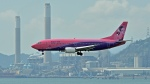 flytaka78さんが、香港国際空港で撮影したサイアム・エア 737-3J6の航空フォト(写真)