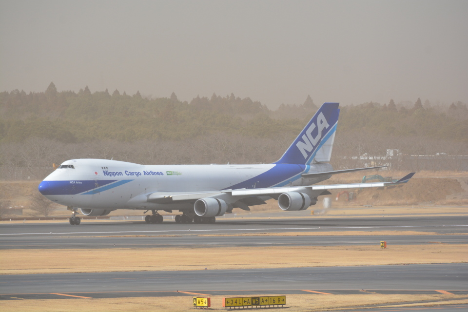 LEGACY-747さんの日本貨物航空 Boeing 747-400 (JA08KZ) 航空フォト