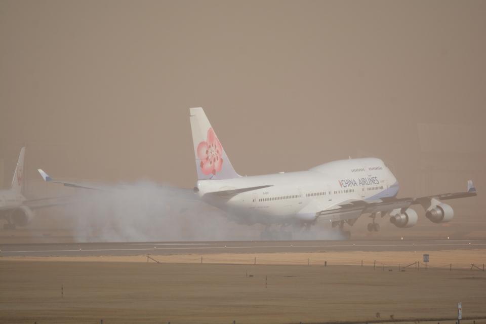 LEGACY-747さんのチャイナエアライン Boeing 747-400 (B-18207) 航空フォト