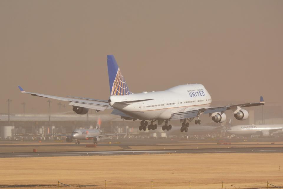 LEGACY-747さんのユナイテッド航空 Boeing 747-400 (N121UA) 航空フォト