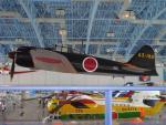 きったんさんが、浜松基地で撮影した日本海軍 Zero A6Mの航空フォト(写真)