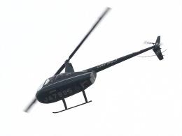 丸めがねさんが、調布飛行場で撮影した日本個人所有 R44 Clipperの航空フォト(飛行機 写真・画像)