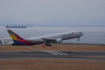 yabyanさんが、中部国際空港で撮影したアシアナ航空 767-38EF/ERの航空フォト(飛行機 写真・画像)