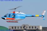 Chofu Spotter Ariaさんが、名古屋飛行場で撮影した中日本航空 206B JetRanger IIの航空フォト(写真)
