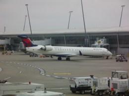 しかばねさんが、インディアナポリス国際空港で撮影したデルタ・コネクション CL-600-2D24 Regional Jet CRJ-900の航空フォト(飛行機 写真・画像)