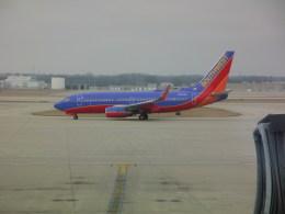 しかばねさんが、インディアナポリス国際空港で撮影したサウスウェスト航空 737-7H4の航空フォト(飛行機 写真・画像)