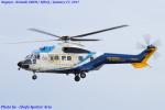 Chofu Spotter Ariaさんが、名古屋飛行場で撮影した中日本航空 AS332L Super Pumaの航空フォト(写真)