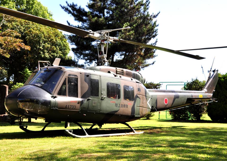 チャーリーマイクさんの陸上自衛隊 Fuji UH-1H (41733) 航空フォト