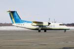 北の熊さんが、新千歳空港で撮影したAvmaxグループ DHC-8-103Q Dash 8の航空フォト(写真)