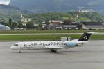 comさんが、ザルツブルグ・W・A・モーツワルト空港で撮影したオーストリアン・アローズ 100の航空フォト(飛行機 写真・画像)
