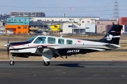 よっしぃさんが、八尾空港で撮影した日本個人所有 A36 Bonanza 36の航空フォト(飛行機 写真・画像)
