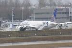 みきてぃさんが、ペインフィールド空港で撮影したユナイテッド航空 787の航空フォト(写真)