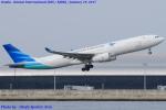 Chofu Spotter Ariaさんが、関西国際空港で撮影したガルーダ・インドネシア航空 A330-343Eの航空フォト(写真)
