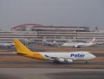 空港快速さんが、羽田空港で撮影したポーラーエアカーゴ 747-46NF/SCDの航空フォト(写真)