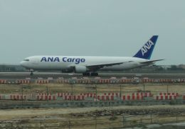 Rsaさんが、台湾桃園国際空港で撮影した全日空 767-381/ER(BCF)の航空フォト(飛行機 写真・画像)
