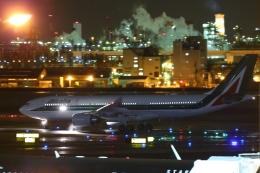 多摩川崎2Kさんが、羽田空港で撮影したアリタリア航空 A330-202の航空フォト(飛行機 写真・画像)