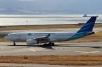 ハピネスさんが、関西国際空港で撮影したガルーダ・インドネシア航空 A330-243の航空フォト(飛行機 写真・画像)