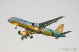 遠森一郎さんが、福岡空港で撮影したセブパシフィック航空 A320-214の航空フォト(飛行機 写真・画像)