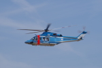 yabyanさんが、名古屋飛行場で撮影した鹿児島県警察 AW139の航空フォト(飛行機 写真・画像)