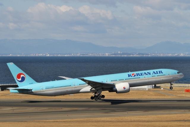 航空フォト:HL8010 大韓航空 777-300