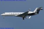 Chofu Spotter Ariaさんが、羽田空港で撮影したドイツ個人所有 G-V-SP Gulfstream G550の航空フォト(写真)