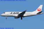 Chofu Spotter Ariaさんが、羽田空港で撮影したジェイ・エア ERJ-170-100 (ERJ-170STD)の航空フォト(飛行機 写真・画像)