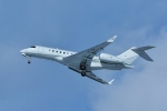 Airway-japanさんが、函館空港で撮影したジェット・エイビエーション BD-700-1A11 Global 5000の航空フォト(写真)