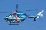 よっしぃさんが、名古屋飛行場で撮影した石川県警察 BK117C-1の航空フォト(写真)