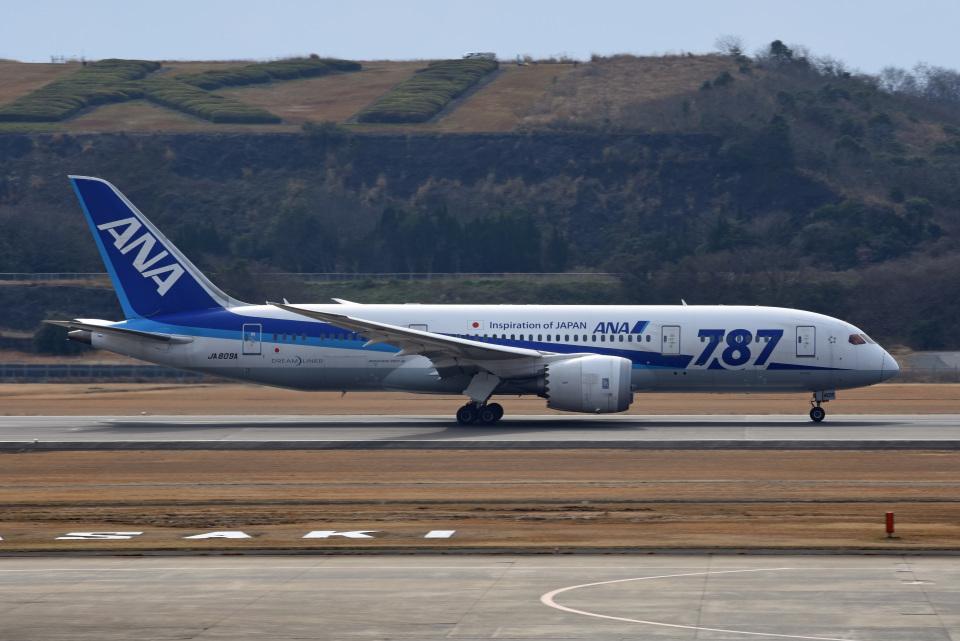 tsubasa0624さんの全日空 Boeing 787-8 Dreamliner (JA809A) 航空フォト