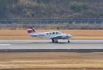 tsubasa0624さんが、長崎空港で撮影した崇城大学 58 Baronの航空フォト(飛行機 写真・画像)