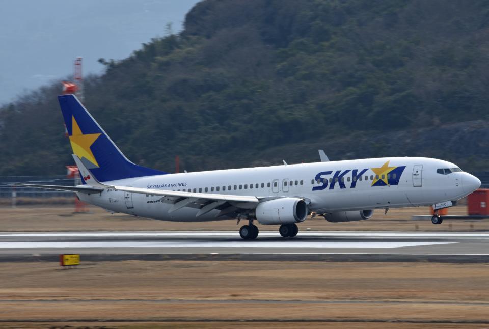 tsubasa0624さんのスカイマーク Boeing 737-800 (JA73NC) 航空フォト