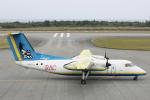 小牛田薫さんが、多良間空港で撮影した琉球エアーコミューター DHC-8-103Q Dash 8の航空フォト(写真)