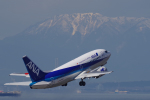 yabyanさんが、中部国際空港で撮影したANAウイングス 737-54Kの航空フォト(飛行機 写真・画像)