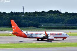 吉田高士さんが、成田国際空港で撮影したチェジュ航空 737-82Rの航空フォト(飛行機 写真・画像)