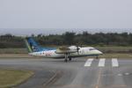 しかばねさんが、多良間空港で撮影した琉球エアーコミューター DHC-8-103Q Dash 8の航空フォト(写真)