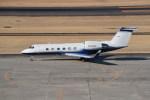 kumagorouさんが、仙台空港で撮影したユタ銀行 G-IVの航空フォト(飛行機 写真・画像)