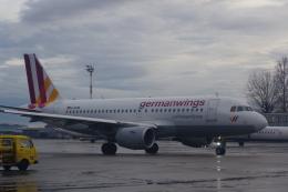 JA8037さんが、ザグレブ空港で撮影したジャーマンウィングス A319-112の航空フォト(飛行機 写真・画像)