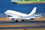 north-wingさんが、羽田空港で撮影したジェット・コネクションズ 737-2V6/Advの航空フォト(写真)