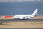 sakanayahiroさんが、羽田空港で撮影したジェット・コネクションズ 737-2V6/Advの航空フォト(写真)
