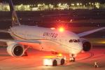 ぷぅぷぅまるさんが、成田国際空港で撮影したユナイテッド航空 787-8 Dreamlinerの航空フォト(写真)