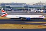 あしゅーさんが、羽田空港で撮影したブリティッシュ・エアウェイズ 777-336/ERの航空フォト(飛行機 写真・画像)