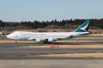 職業旅人さんが、成田国際空港で撮影したキャセイパシフィック航空 747-467F/ER/SCDの航空フォト(写真)