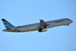 mojioさんが、成田国際空港で撮影したエアプサン A321-231の航空フォト(飛行機 写真・画像)