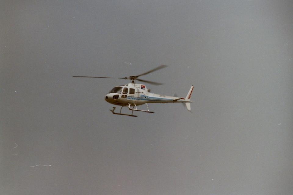 うすさんの中日新聞社 Aerospatiale AS350 Ecureuil/AStar (JA9390) 航空フォト