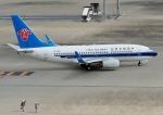 じーく。さんが、羽田空港で撮影した中国南方航空 737-71Bの航空フォト(写真)