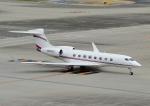 じーく。さんが、羽田空港で撮影した Private G650ER (G-VI)の航空フォト(飛行機 写真・画像)