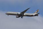 ウッディさんが、成田国際空港で撮影したエティハド航空 787-9の航空フォト(写真)