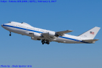 Chofu Spotter Ariaさんが、横田基地で撮影したアメリカ空軍 E-4B (747-200B)の航空フォト(飛行機 写真・画像)