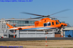 Chofu Spotter Ariaさんが、東京ヘリポートで撮影した新日本ヘリコプター 412EPの航空フォト(飛行機 写真・画像)